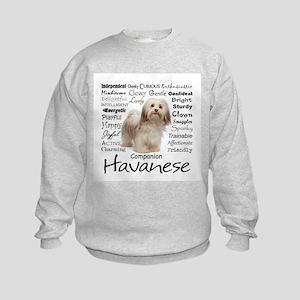 Havanese Traits Sweatshirt