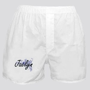 Jaelyn Artistic Name Design with Flow Boxer Shorts