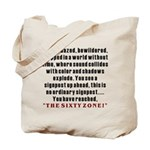 The Sixty Zone, 60th Tote Bag