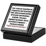 The Sixty Zone, 60th Keepsake Box