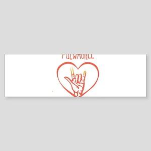 MILWAUKEE (hand sign) Bumper Sticker