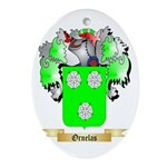 Ornelas Oval Ornament