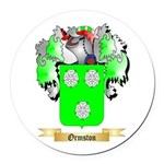 Ormston Round Car Magnet