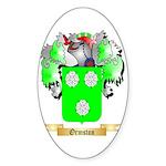 Ormston Sticker (Oval 50 pk)