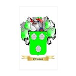 Ormson Sticker (Rectangle 50 pk)