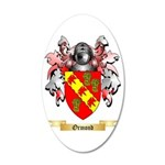 Ormond 35x21 Oval Wall Decal