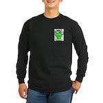 Ormes Long Sleeve Dark T-Shirt