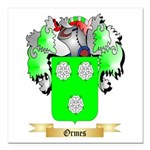 Ormes Square Car Magnet 3