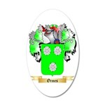 Ormes 20x12 Oval Wall Decal