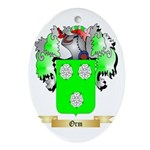Orm Oval Ornament