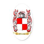 Orlando Oval Car Magnet