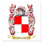 Orlando Square Car Magnet 3