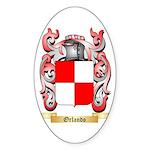 Orlando Sticker (Oval 10 pk)