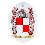 Orlando Oval Ornament