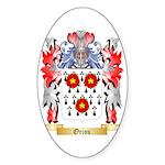 Oriou Sticker (Oval 10 pk)