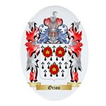 Oriou Oval Ornament