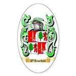 O'Riordan Sticker (Oval 50 pk)