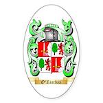O'Riordan Sticker (Oval 50 pk)