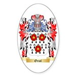 Oriol Sticker (Oval)