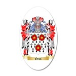 Oriol 35x21 Oval Wall Decal