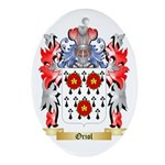 Oriol Oval Ornament