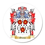 Orieux Round Car Magnet