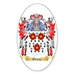 Orieux Sticker (Oval 50 pk)