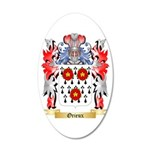Orieux 20x12 Oval Wall Decal