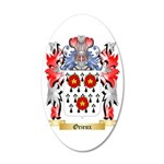 Orieux 35x21 Oval Wall Decal