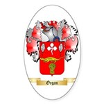 Organ Sticker (Oval 50 pk)