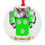 Oren Round Ornament