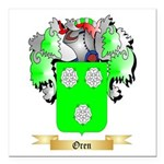 Oren Square Car Magnet 3