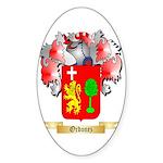 Ordonez Sticker (Oval 10 pk)