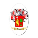 Ordonez 20x12 Oval Wall Decal