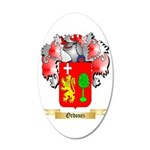 Ordonez 35x21 Oval Wall Decal