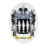Orde Oval Ornament