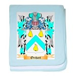 Orchart baby blanket