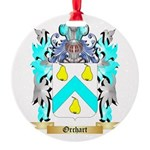 Orchart Round Ornament