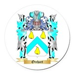 Orchart Round Car Magnet