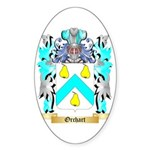 Orchart Sticker (Oval 10 pk)