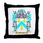 Orchart Throw Pillow