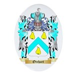Orchart Oval Ornament