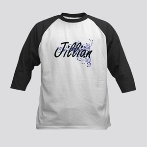 Jillian Artistic Name Design with Baseball Jersey