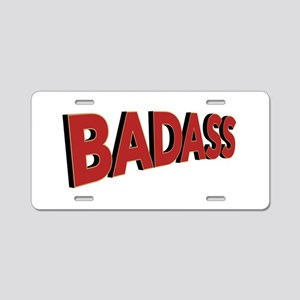 Badass Aluminum License Plate
