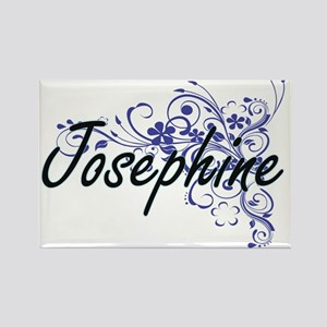 Josephine Artistic Name Design with Flower Magnets