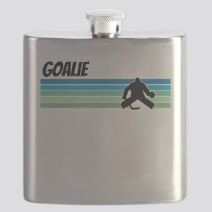 Retro 1970s Hockey Flask