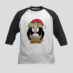 Christmas In Summer Penguin Baseball Jersey