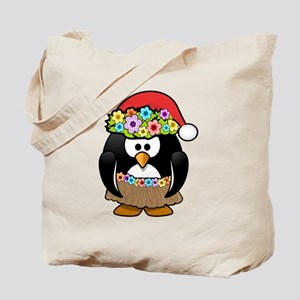 Christmas In Summer Penguin Tote Bag
