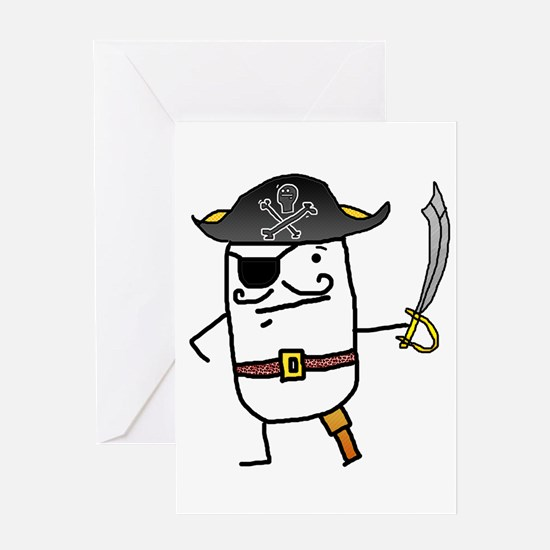 Big John Silver Greeting Cards