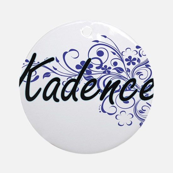 Kadence Artistic Name Design with F Round Ornament